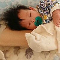 cani airwave枕頭--仰睡時也很貼和頭型,整個就是舒服啦
