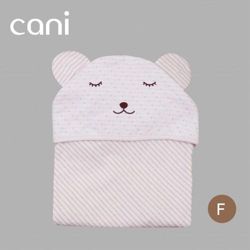 cani有機棉     兒童專屬包巾