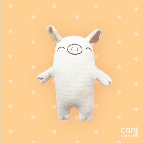 cani有機棉 愛睡豬