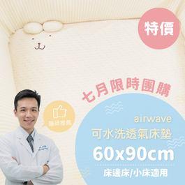 ✦七月團購優惠組✦air wave水洗床墊 60x90x5cm ✦單床包超值組✦