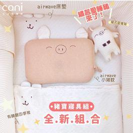 ✦愛睡豬來了✦豬寶寢具組(床墊 60x120 )+繡名愛睡豬✦