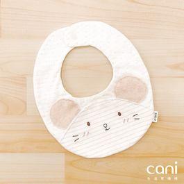 cani有機棉 飛飛鼠口水巾