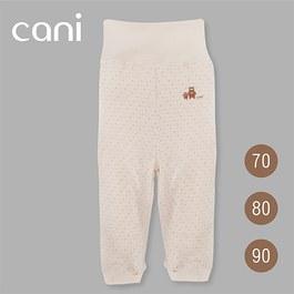 cani有機棉 長褲-點點條紋