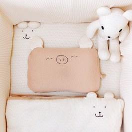 cani有機棉   寶貝寢具組(床墊 60x120x5cm )