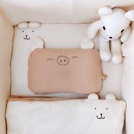 cani有機棉   寶貝寢具組(床墊60*120)