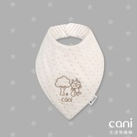 Cani有機棉   三角形松鼠領巾