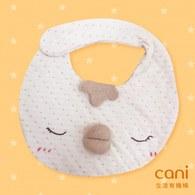 cani小雞有機棉口水巾
