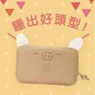 ✦3月團購優惠✦【單枕套組】cani airwave護頭枕(小豬款)